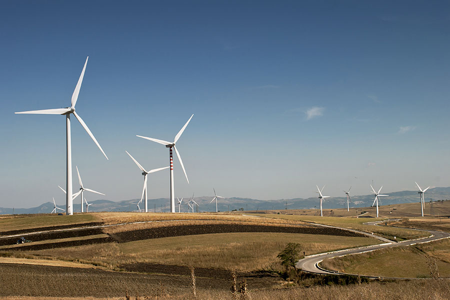 Wind Energy and Ultra Large Bearings