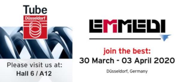 TUBE Show / Düsseldorf  30 March – 3 April 2020