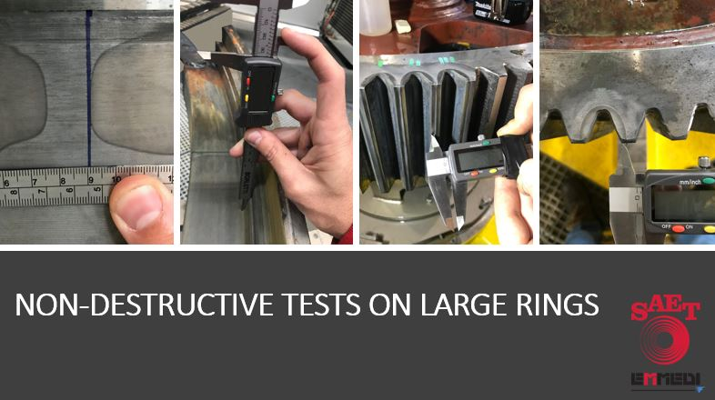 NON-DESTRUCTIVE TESTS ON LARGE RINGS