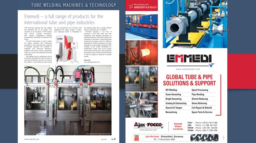 Tube and Pipe Technology – May issue