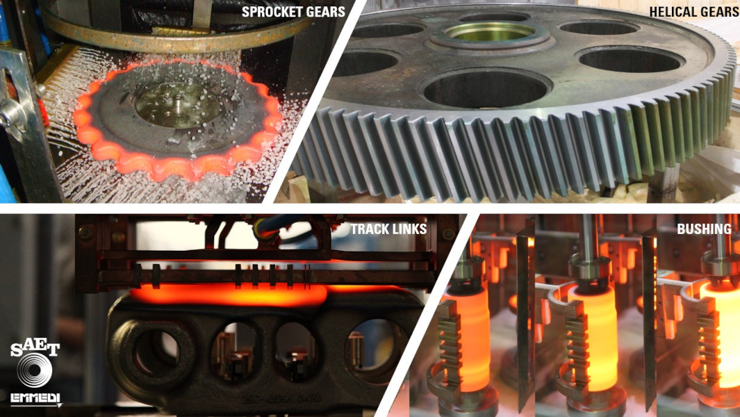 Innovative induction heat treat solutions and challenging projects to meet customers' needs